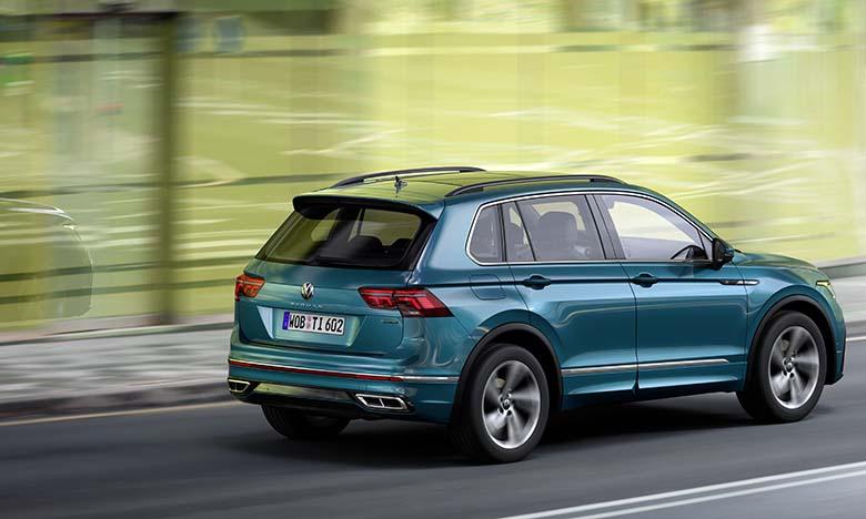 Restylage en profondeur pour le Volkswagen Tiguan