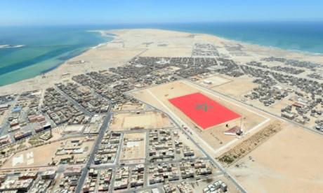 La voie express Tiznit-Dakhla : Les travaux vont bon train au niveau  des tronçons de Souss-Massa