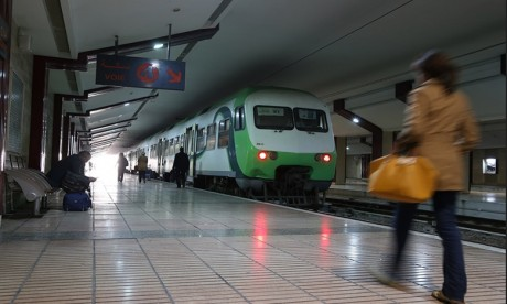 ONCF: Les trains desservant l'aéroport Mohammed V reprennent du service