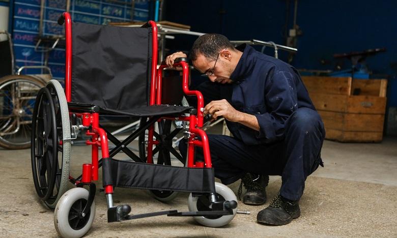 AMH : Distribution d'appareillages orthopédiques en appui à l'insertion professionnelle des jeunes en situation de handicap