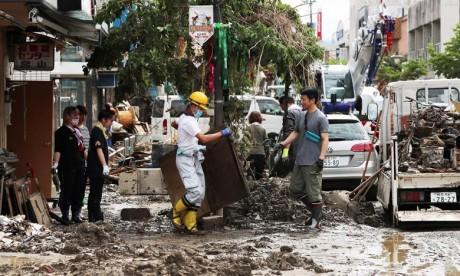 Le Japon en alerte maximale après des pluies torrentielles