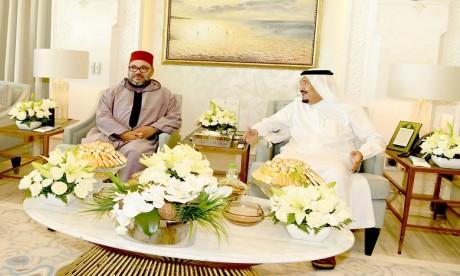Message de compassion de S.M. le Roi au Serviteur des Lieux sains de l'Islam suite à son hospitalisation