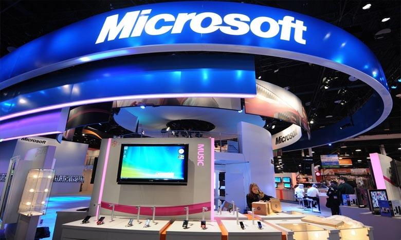 Microsoft ambitionne d'accompagner le retour à l'emploi de 25 millions de personnes à travers le monde en aidant à les former aux métiers dont les entreprises ont le plus besoin. Ph : AFP
