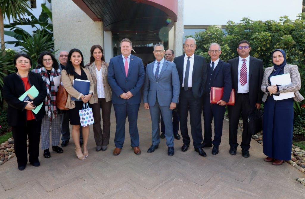M. Ian STEFF s'était rendu en février 2020 au Maroc où il avait notamment rencontré M.  Abderrahim EL HAFIDI, DG de l'ONEE.