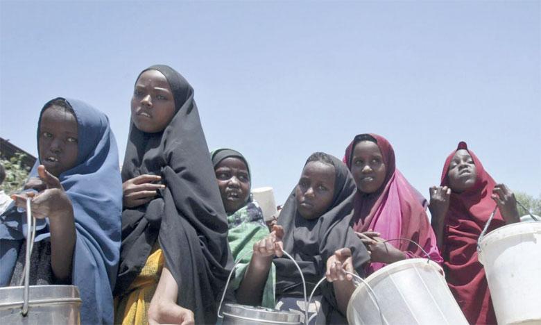 En Afrique, le taux de sous-alimentation, 19,1% de la population, représente 250 millions de personnes, le double de la moyenne mondiale. Ph. DR