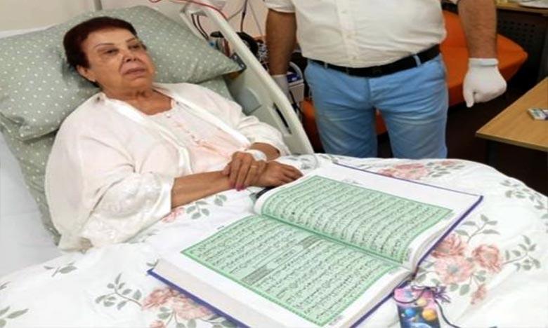 La célèbre actrice égyptienne Ragaa Al-Guiddawi a été hospitalisée en mai, après avoir été testée positive pour le coronavirus. Ph : DR