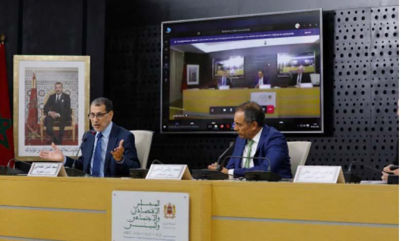 El Othmani : Le plan de redynamisation économique s'étend jusqu'à fin 2021
