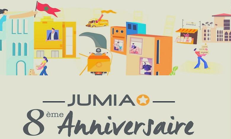 Jumia célèbre son 8e anniversaire sous le signe de la solidarité