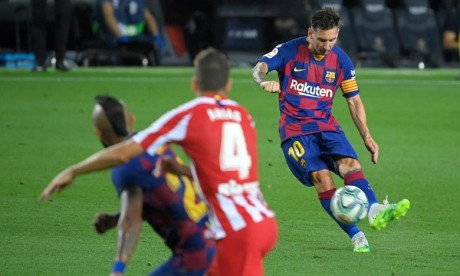 Lionel Messi inscrit son 700e but en carrière