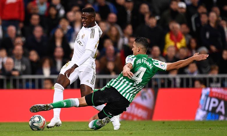 L'international marocain est actuellement dans le viseur du Sporting Portugal qui est prêt à faire une proposition pour s'attacher ses services. Ph : AFP
