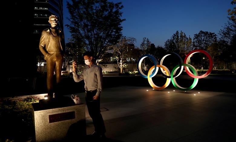 La sécurité est la principale préoccupation des organisateurs des Jeux olympiques de Tokyo, qui devaient commencer la semaine prochaine mais ont été reportés d'un an en raison de la pandémie de Covid-19. Ph :  APF