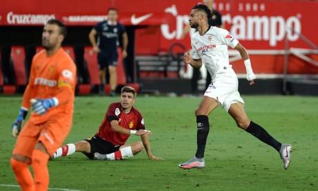 FC Séville / Majorque : En-Nesyri buteur sur une passe décisive de Bounou