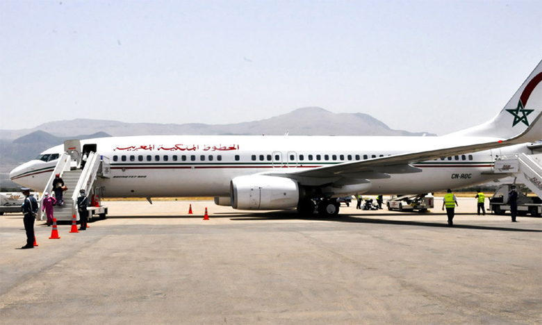 Royal Air Maroc augmente la fréquence de ses vols domestiques