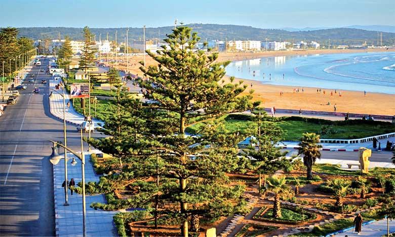"""Essaouira : Pour la 16e année consécutive, le """"Pavillon Bleu"""" hissé sur la plage de la ville"""