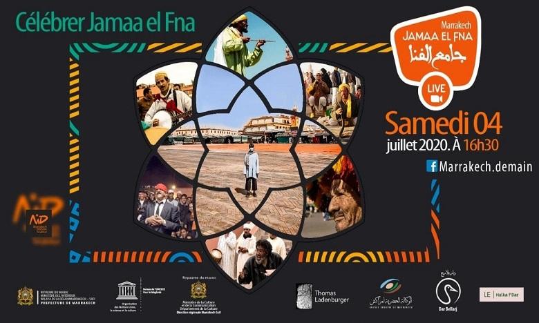 En attendant la reprise, Jamaâ El Fna s'anime en ligne