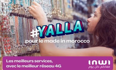 « Yalla ! » : l'appel de inwi pour l'espoir