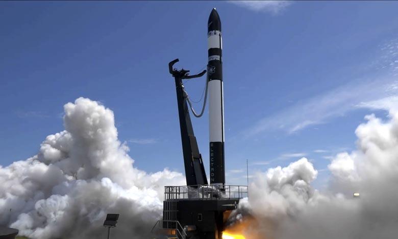 Dans une déclaration publiée sur son site Internet, Rocket Lab indique avoir rencontré une «anomalie» après quatre minutes de vol.  Ph :  AFP