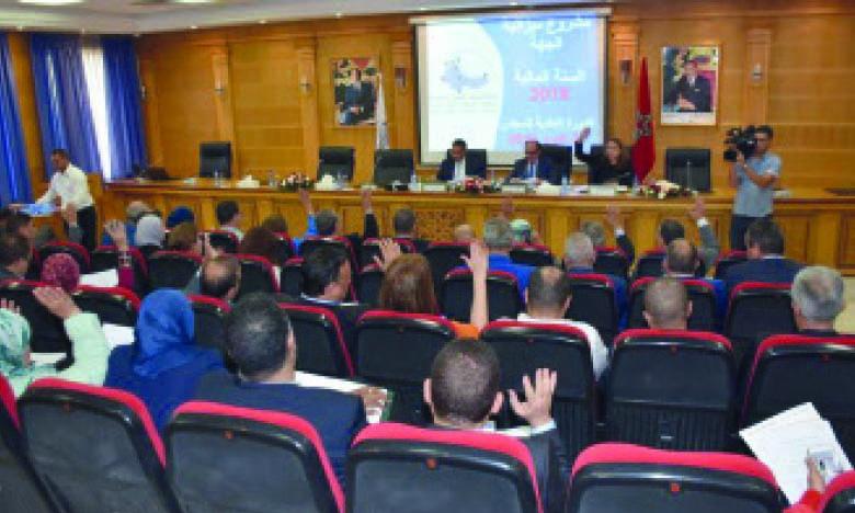 Le Conseil régional adopte des projets pour  promouvoir la croissance et l'emploi