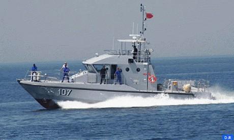La Marine royale déjoue une opération de trafic de stupéfiants en méditerranée