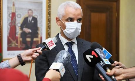 Covid-19 : Khalid Ait Taleb souligne l'obligation du port du masque pour freiner la propagation du virus