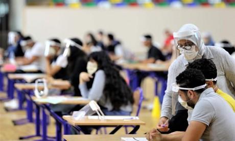 Bac 2020: 95,1% taux de présence des candidats scolarisés à la session de rattrapage