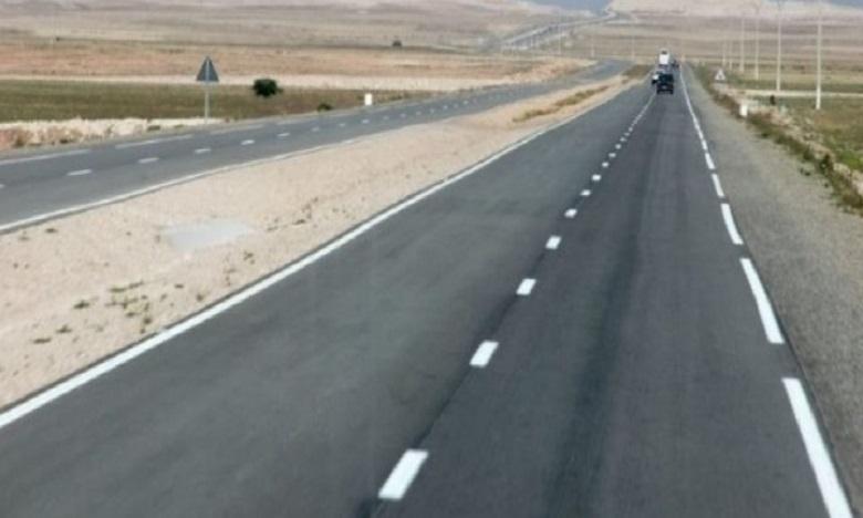 La voie express Tiznit-Dakhla: Les travaux vont bon train au niveau des tronçons de Souss-massa