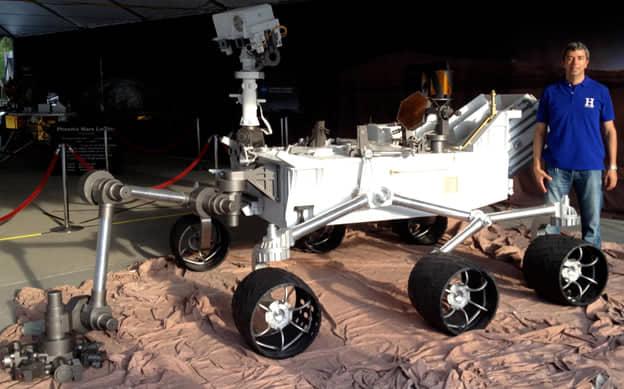 «Je vais apporter le soutien à ce lancement comme je l'ai fait pour les autres rover vers Mars», a déclaré le scientifique Kamal Oudrhiri. Ph : DR