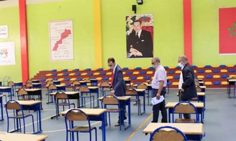 Toutes les mesures de prévention ont été prises pour la sécurité sanitaire des candidats et des cadres pédagogiques et administratifs en période d'examen