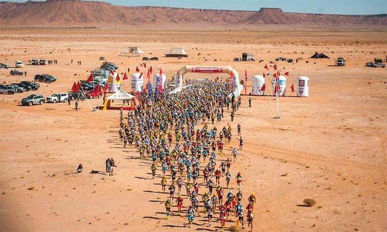Le Marathon des sables rassemble chaque année des milliers de passionnés de sport de l'extrême.
