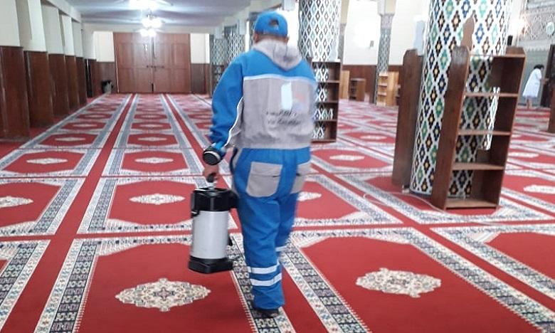 Casablanca désinfecte ses mosquées