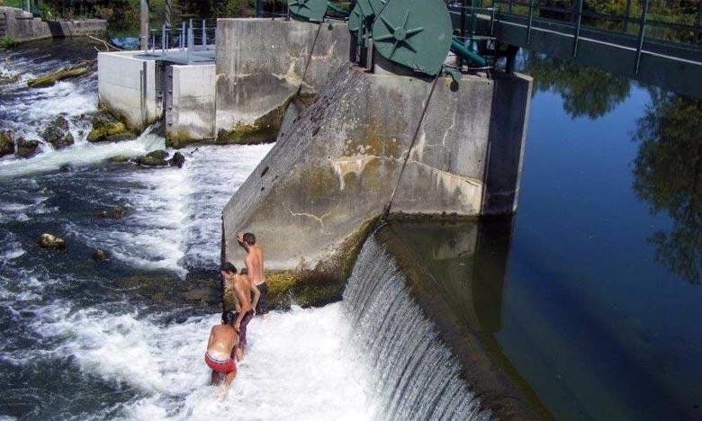Le bassin hydraulique du Sebou enregistre chaque été de nombreux cas de noyade dans les lacs des barrages. Ph : DR