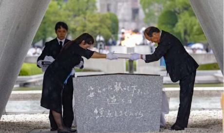 Les survivants de la bombe A passent  le relais de la mémoire