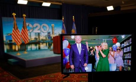 USA: Joe Biden officiellement désigné candidat démocrate pour la présidentielle