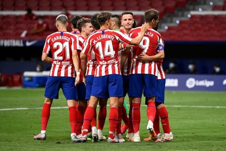 Foot: Pas de nouveaux cas de Covid-19 à l'Atlético, soulagement pour l'UEFA