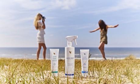 Soins de la peau : Voici les trois produits must-have de l'été signés Forever