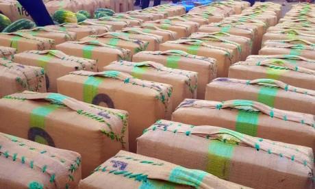 Saisie de plus de 5 tonnes de chira près de Casablanca