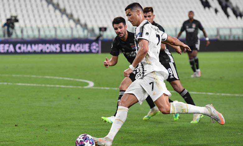 La Juventus a été évincée de la Ligue des champions dès les 8es malgré son succès au match retour face à Lyon (2-1) à Turin . Ph : AFP