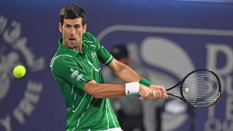 Tennis : Djokovic va jouer Cincinnati et l'US Open