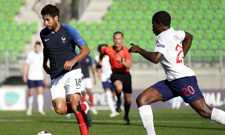 Nabil Alioui, quatrième recrue estivale du club ciel et marine, était sous contrat jusqu'en 2023 avec Monaco, son club formateur. Ph :  AFP