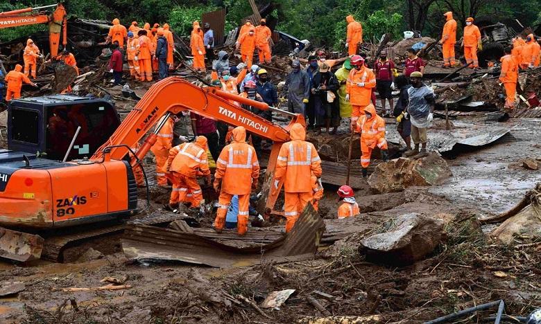 Glissement de terrain en Inde: Le bilan grimpe à 43 morts