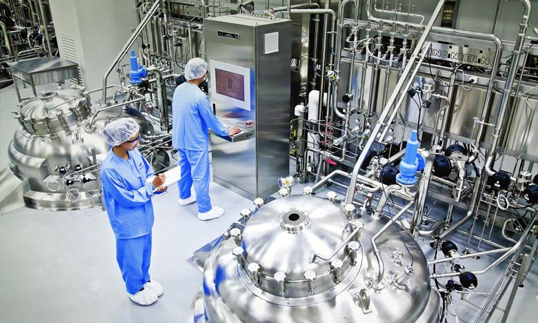 L'usine qui sera implantée à Songdo, à l'ouest d'Incheon, aura une capacité de bioréacteur de 256.000 litres. Ph : DR