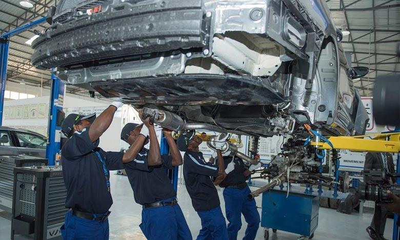 Le constructeur automobile allemand assemblera dans un premier temps les véhicules par l'intermédiaire d'un partenaire local, Universal Motors Ltd. Ph : DR