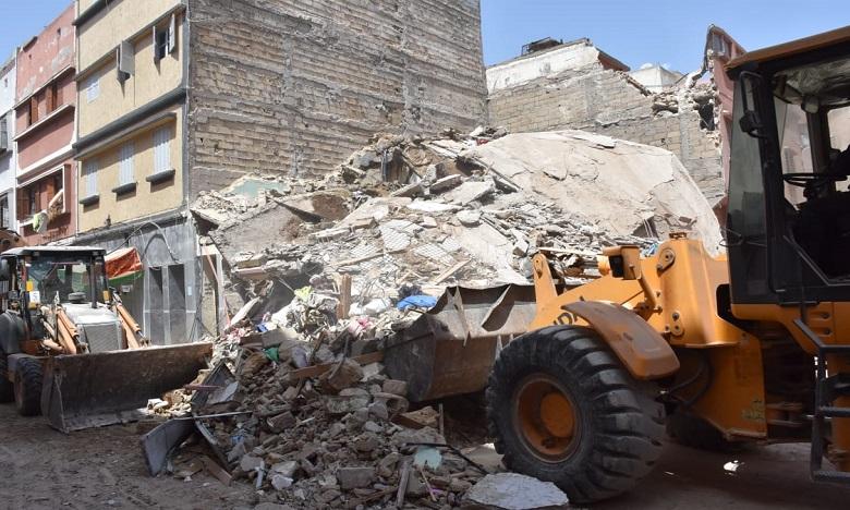 Effondrement d'une maison à Casablanca : un mort