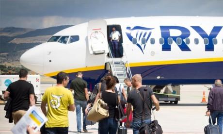 Ryanair réduit de 20% ses vols en septembre et octobre