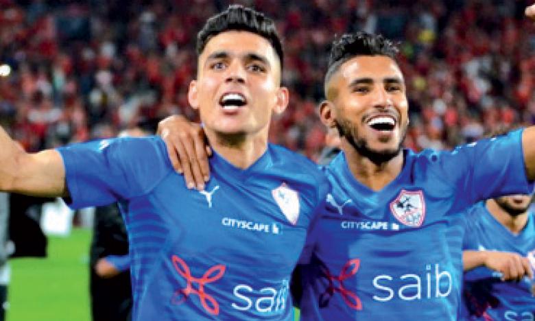 Achraf Bencharki et Mohamed Ounajem.