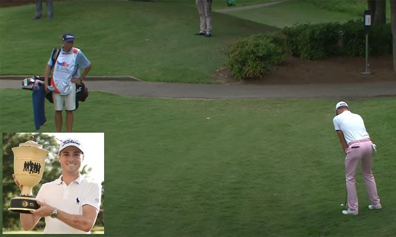 L'Américain Justin Thomas est devenu le nouveau numéro 1 mondial de golf, après sa victoire au tournoi WGC St. Jude Invitational à Memphis, comptant pour le circuit PGA.. Ph : AFP