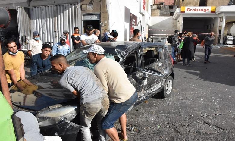 Accident d'un camion-citerne dans une station-service à Casablanca, aucune victime n'est à déplorer