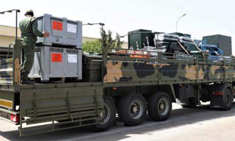 L'hôpital militaire marocain déployé à Beyrouth commence à prodiguer ses services