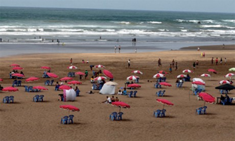 Covid-19 : Les plages de la province de Benslimane fermées vendredi à minuit