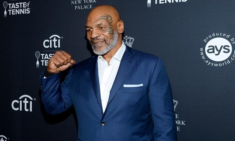 """Mike Tyson conseille à son futur adversaire """"d'être prêt"""" car il sera """"au sommet de sa forme"""". Ph. AFP"""